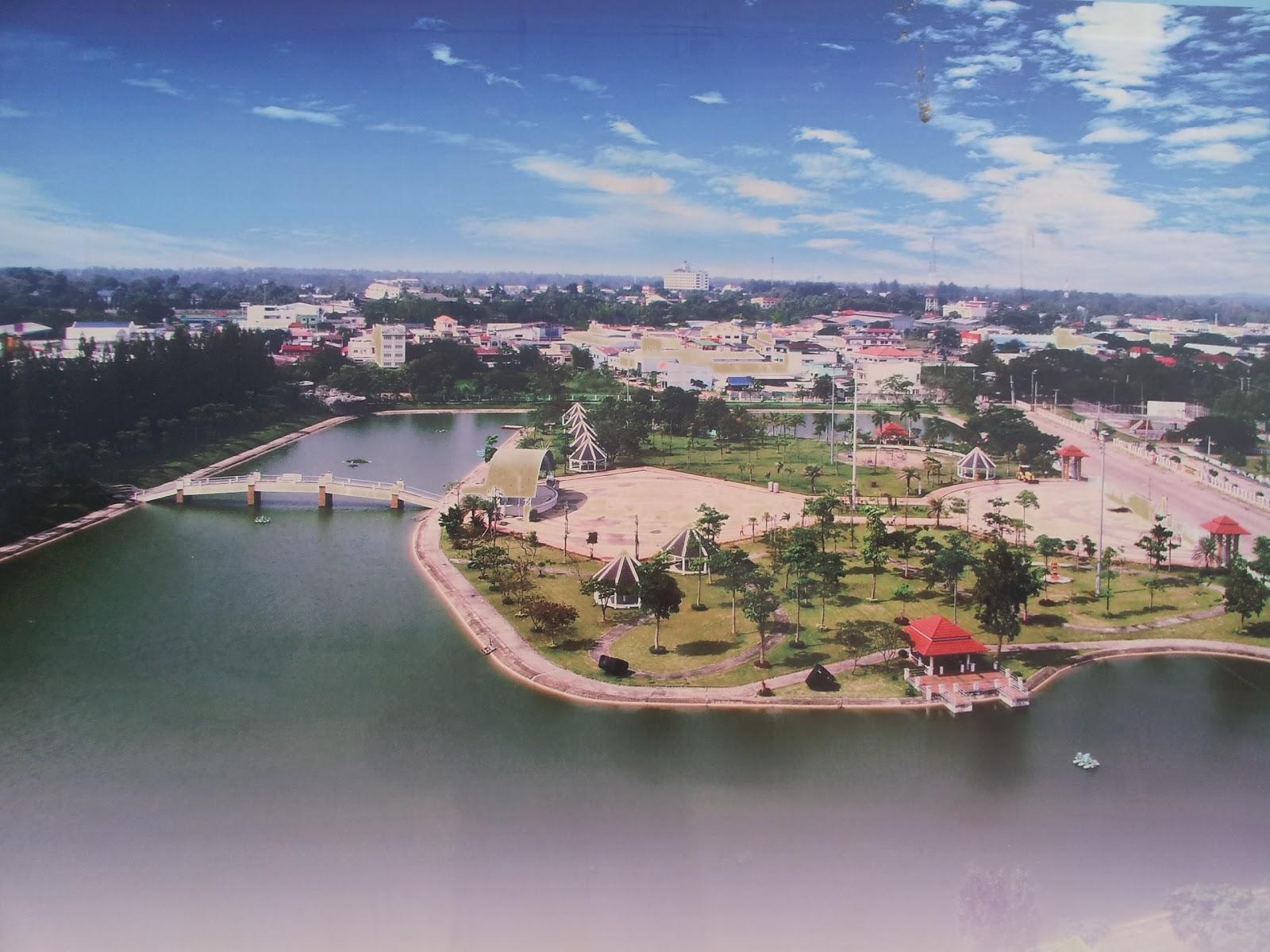 Hotel Isan Isaan Life Golden Jubilee Commemoration Park Mukdahan Thailand