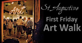 Something Fun to Do Every Day in St. Augustine 3  artwalk st augustine St. Francis Inn St. Augustine Bed and Breakfast