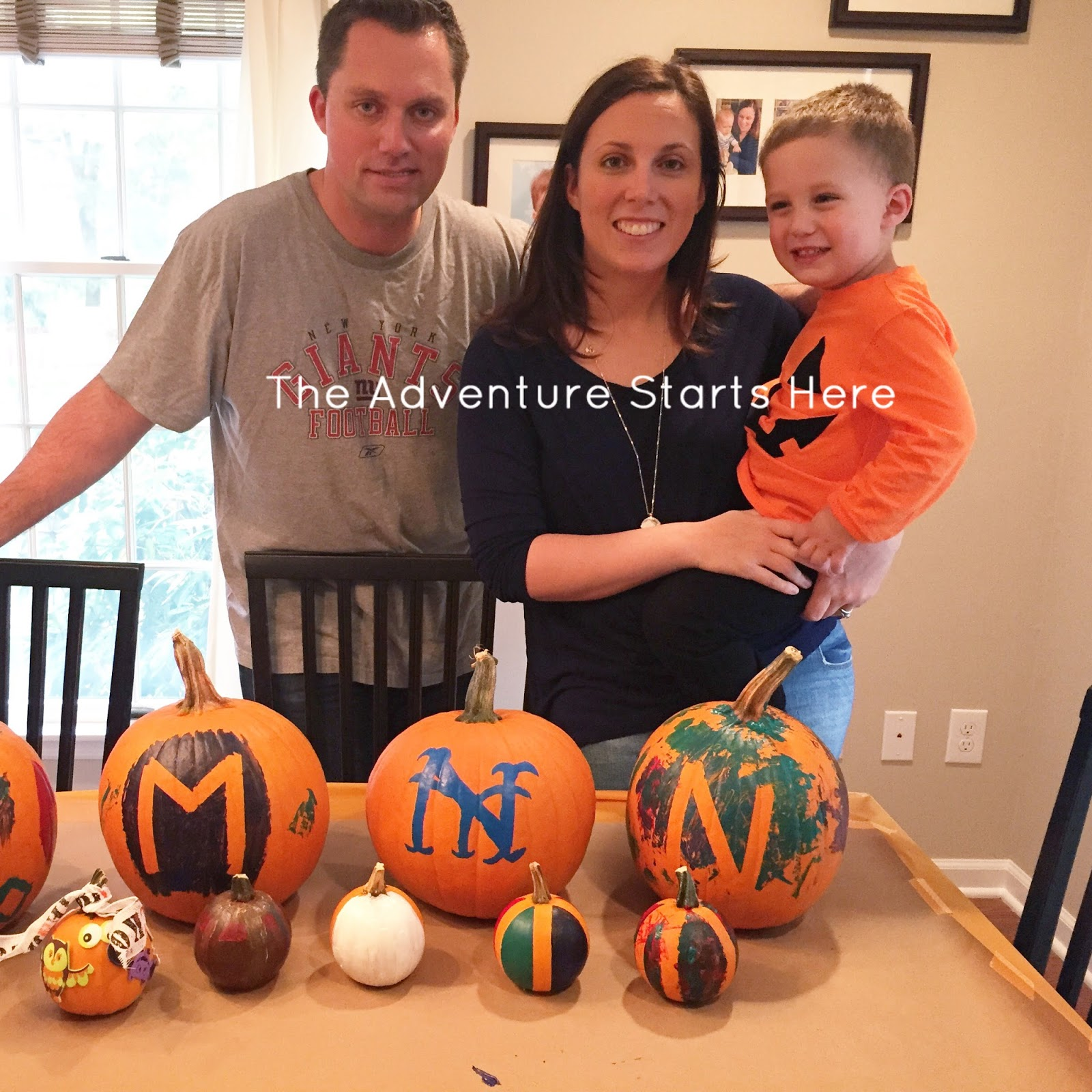 The Adventure Starts Here: Pumpkin Painting Party | Halloween ...