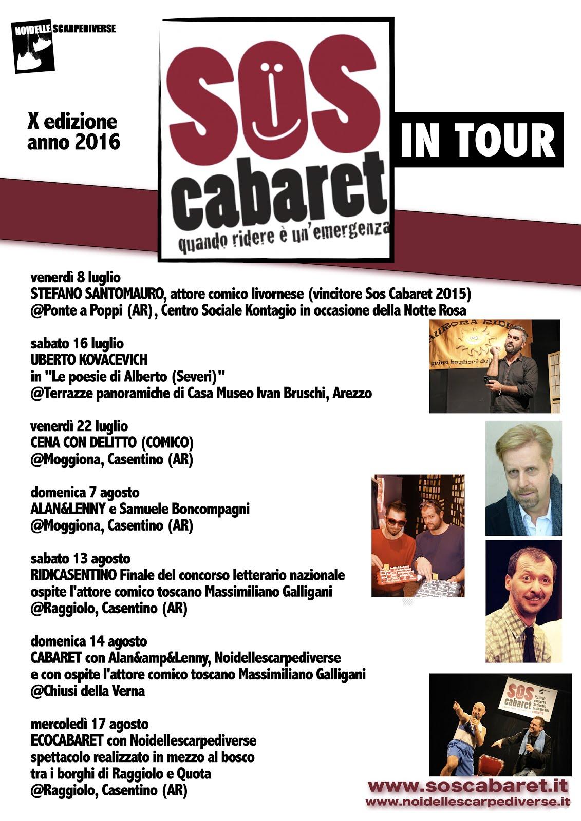 Sos Cabaret 2016