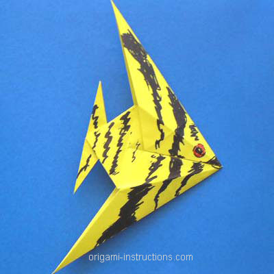 Caveman English Origami Fish