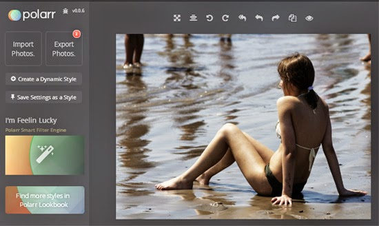 Edit Foto Polarr Photo Editor