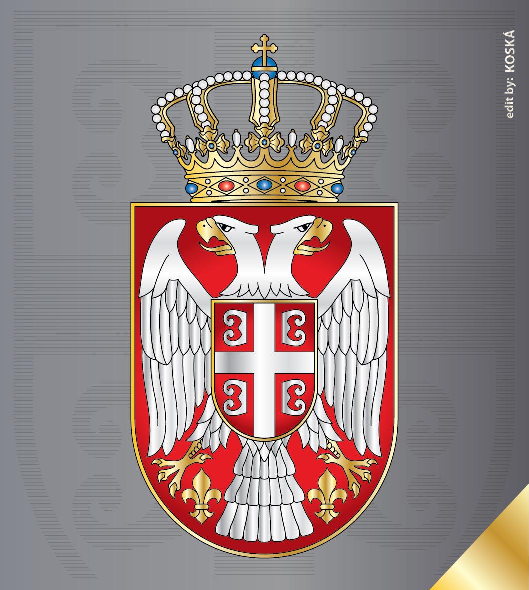 Srpski grb iz 1882.godine - Nekada grb Kraljevine Srbije za vreme ...