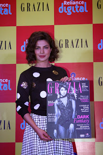 Priyanka Chopra at launching of Grazia Magazine Cover page (8).JPG