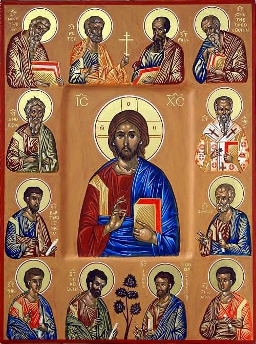 THE TWELVE APOSTLES CHOSEN BY JESUS --- IT-TNAX -IL APPOSTLU, MAGĦŻULA MINN ĠESÙ