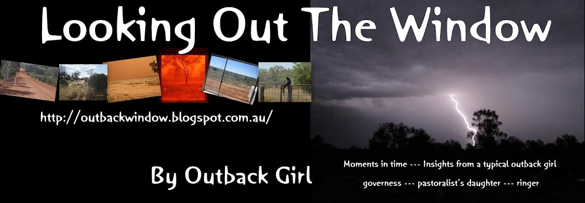 Looking Out The Window by Outback Girl