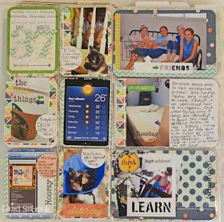 SRM Stickers Blog - Laurel Seabrook - #projectlife #layout #school #stickers #calendar #lifeisgood