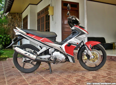 Yamaha Jupiter MX Minimalis Modifikasi