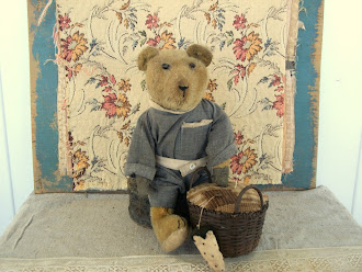 "Early German Mohair Teddy Bear ""Henry"" All Original"