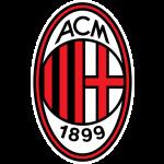 Logo Tim Klub Sepakbola A.C. Milan PNG