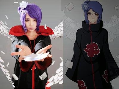 Konan Cosplay dan Anime