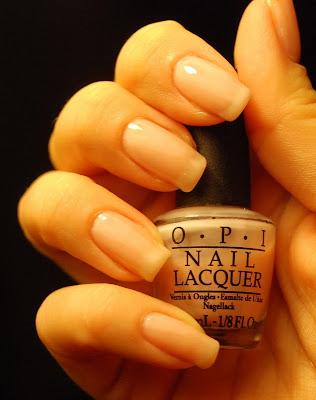 naglar, nails, nagellack, nail polish, opi, opi bubble bath