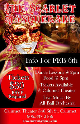 Scarlet Masquerade is TONIGHT, Feb. 6