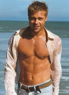Brad Pitt Shirtless