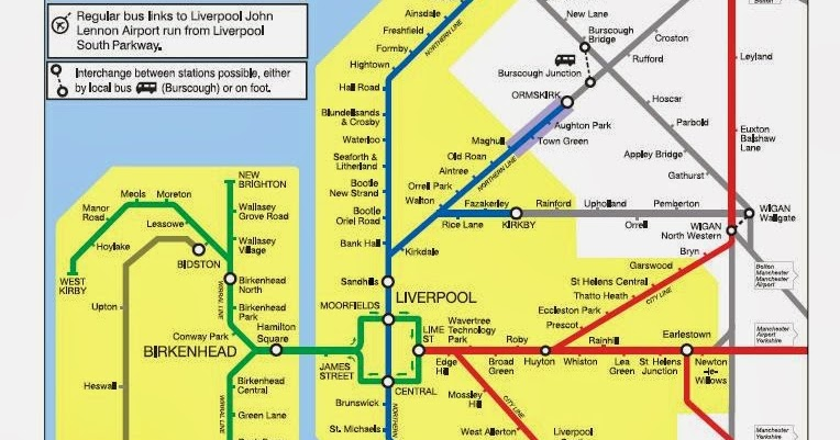 round the north we go The Definitive Ranking Of Merseyrail Lines