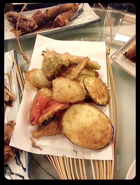 Tempura de verduras - Restaurante Chino Mey-Mey Valencia