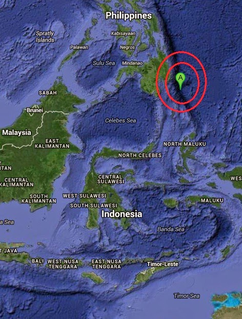 Magnitude 5.3 Earthquake of General Luna, Philippines 2014-10-27