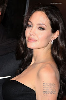 Celebrity Tattoo-Angelina Jolie