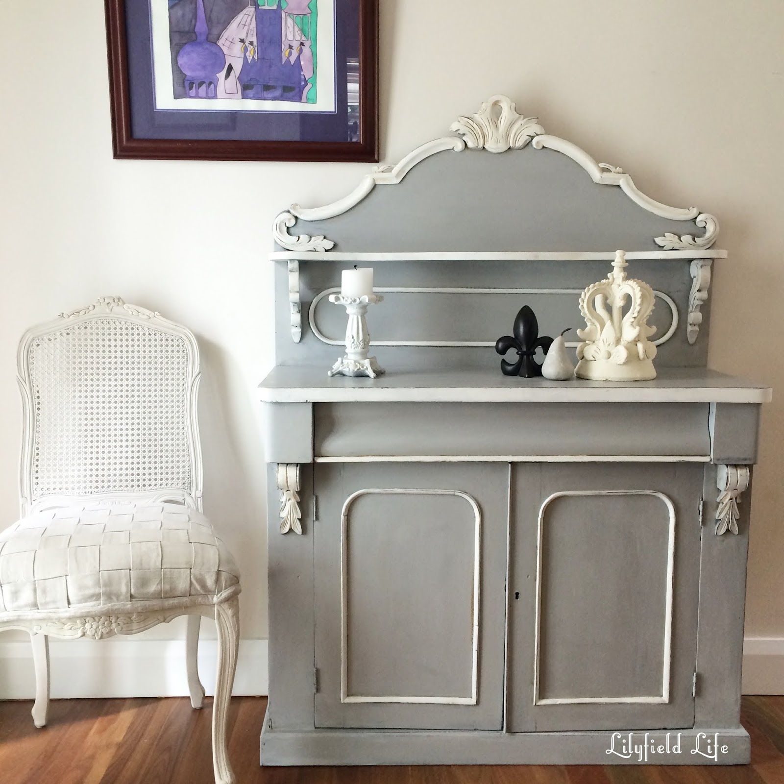 lilyfield life old chiffonier perfect hall table or. Black Bedroom Furniture Sets. Home Design Ideas