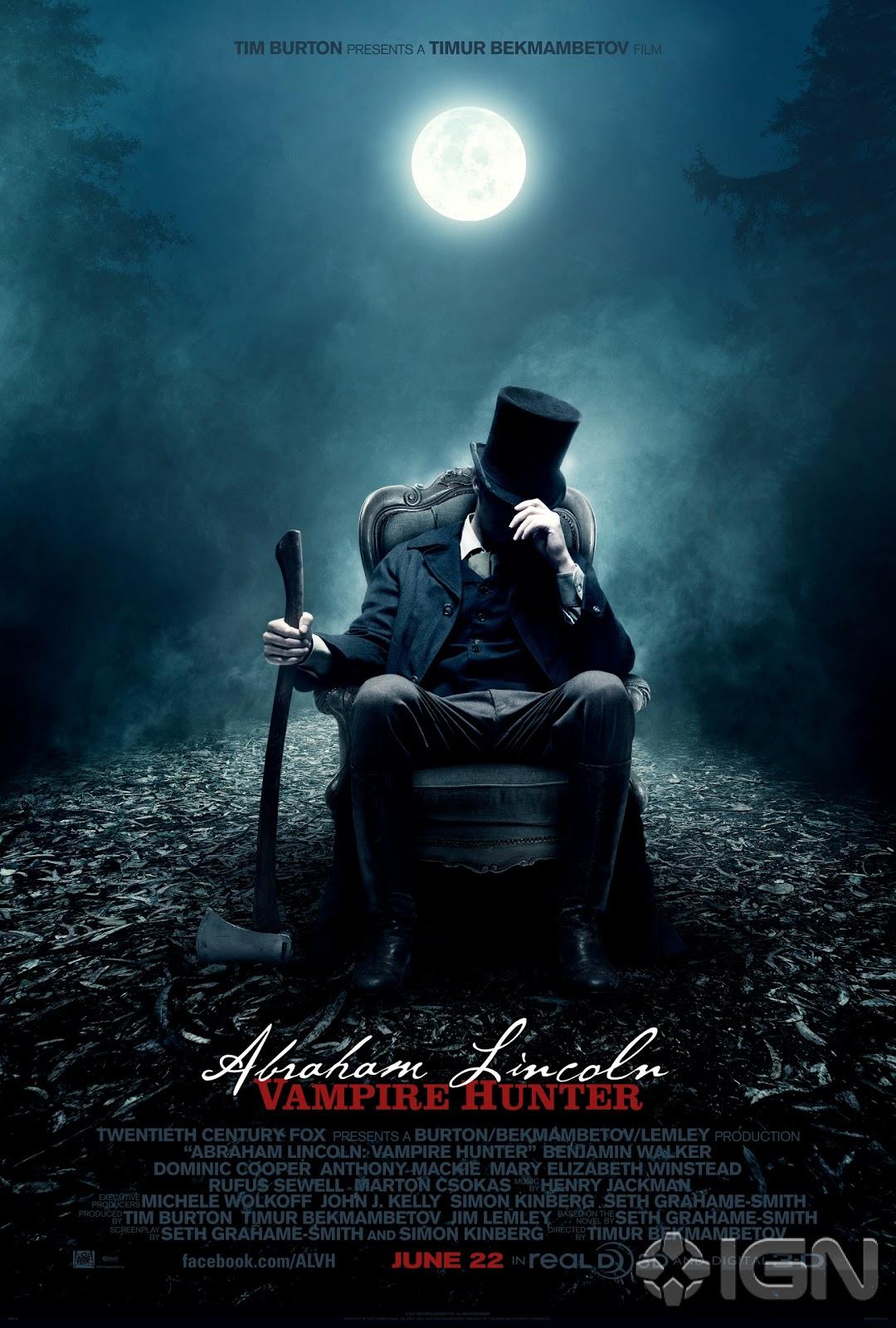 Watch Abraham Lincoln: Vampire Hunter Movie Online Free 2012