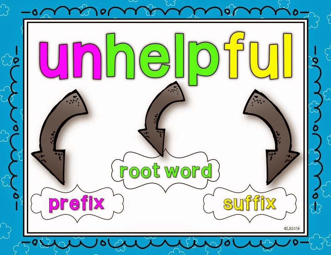 root words prefixes suffixes Begin your study by having students create foldable graphic organizers for the  prefixes and suffixes the unit focuses on the following: • inter- • fore- • de- • - hood.