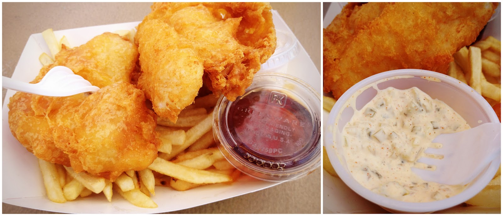 My Go To Order Is Actually The Fish And Chips, Which Is Vastly Underrated  At Redu0027s In My Opinion. Itu0027s A Gigantic Portion Of Flakey White Fish,  Battered And ...