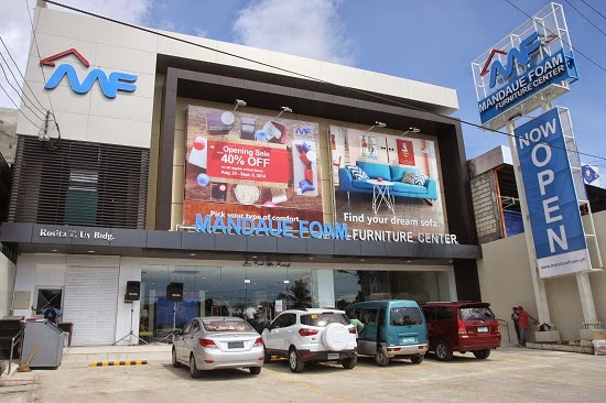 Mandaue Foam Furniture Center opens in Bohol