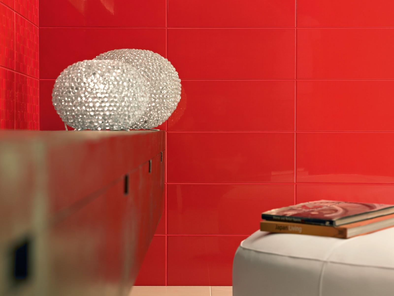 4bildcasa: scegliere le piastrelle del bagno - il colore | parte ... - Arredo Bagno Arancione
