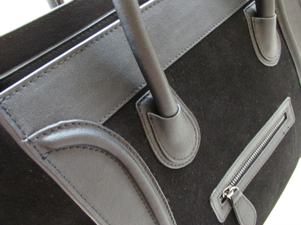 Details: BAGINC Vanessa Large Tote Suede Leather Black Bag - REVIEW
