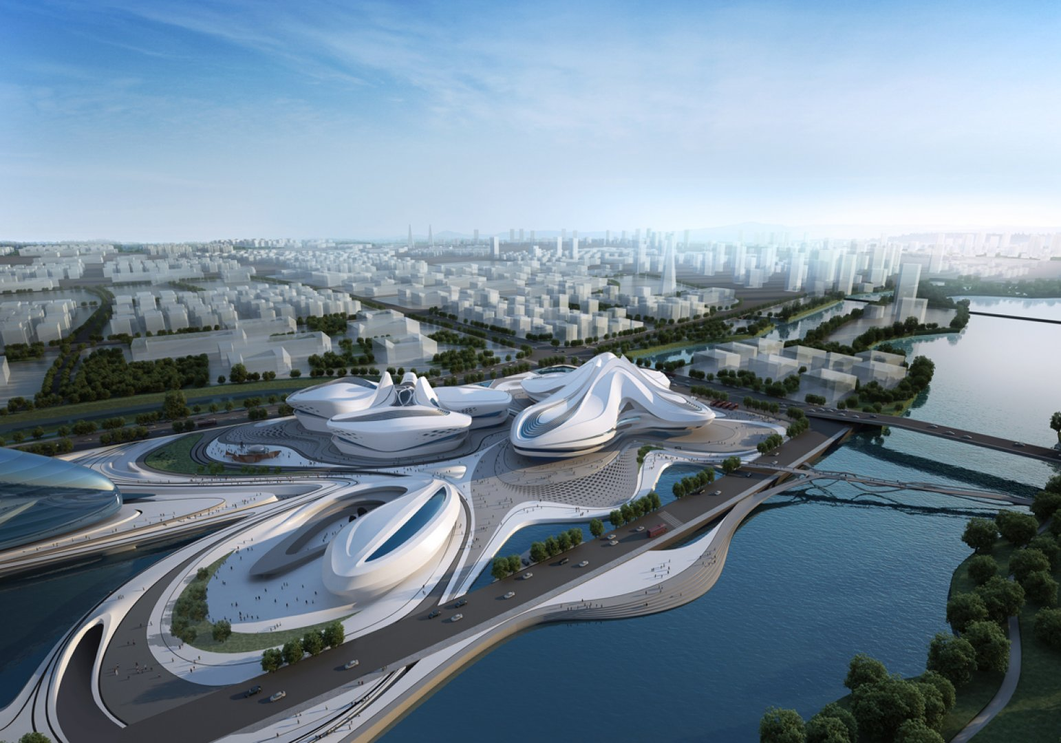 Modern architecture by zaha hadid architects for Architecture zaha hadid