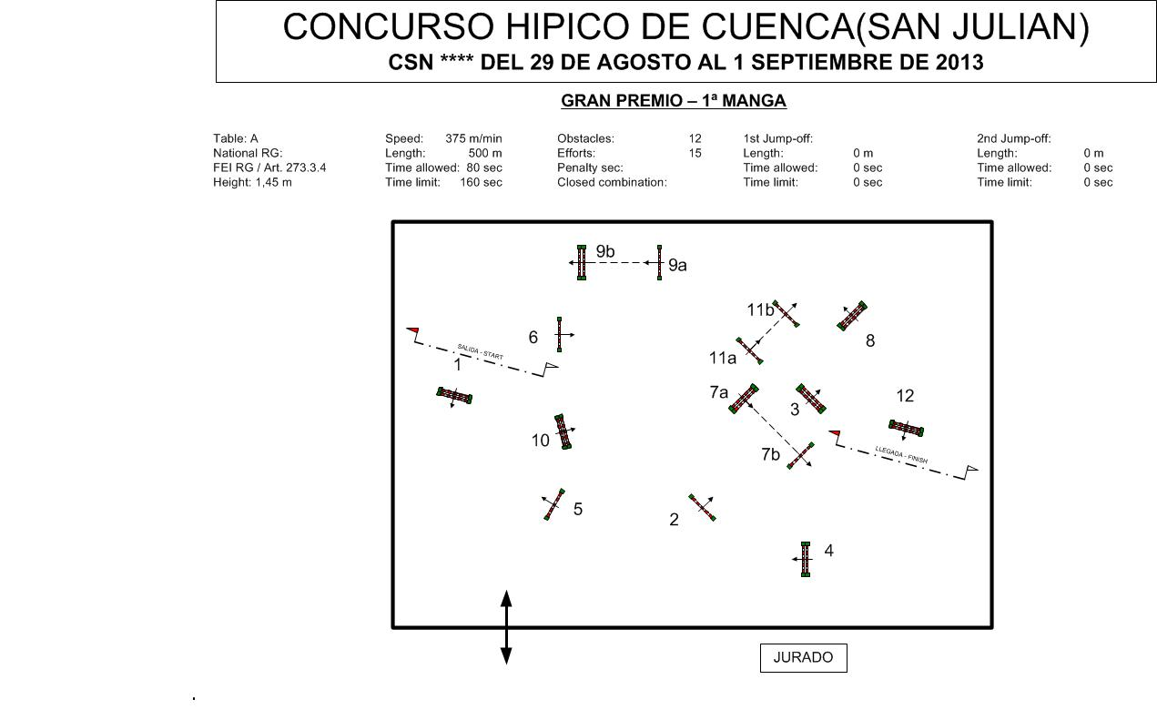 Show Jumping Course Design submited images