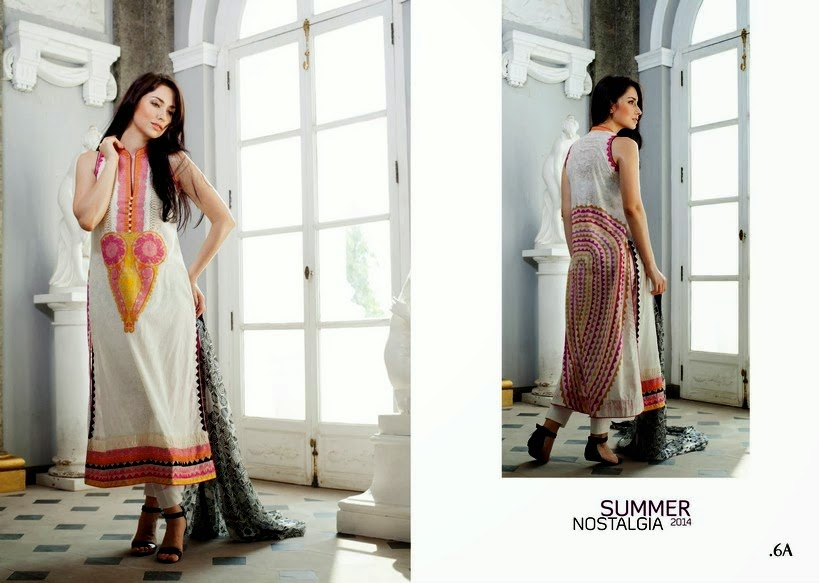 Firdous Lawn Collection 2014-2015