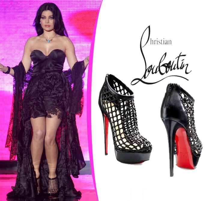 Haifa wehbe fashion and jewelry november 2011