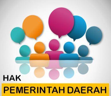 Hak Pemerintah Daerah