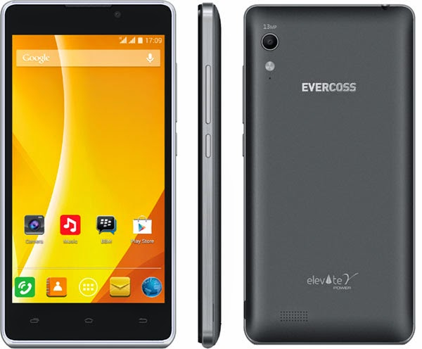 evercoss elevate y power , android
