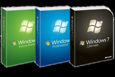 Windows 7 Home Premium-Professional-Ultimate