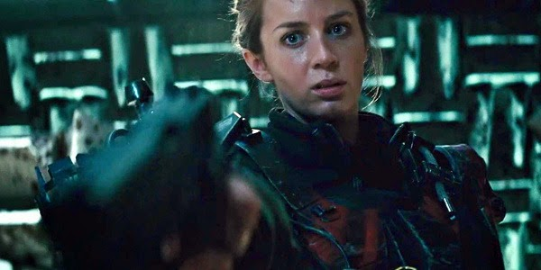 Emily Blunt in Edge of Tomorrow, directed by Doug Liman