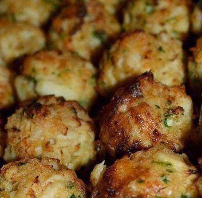 Crab Cakes Balls Recipe