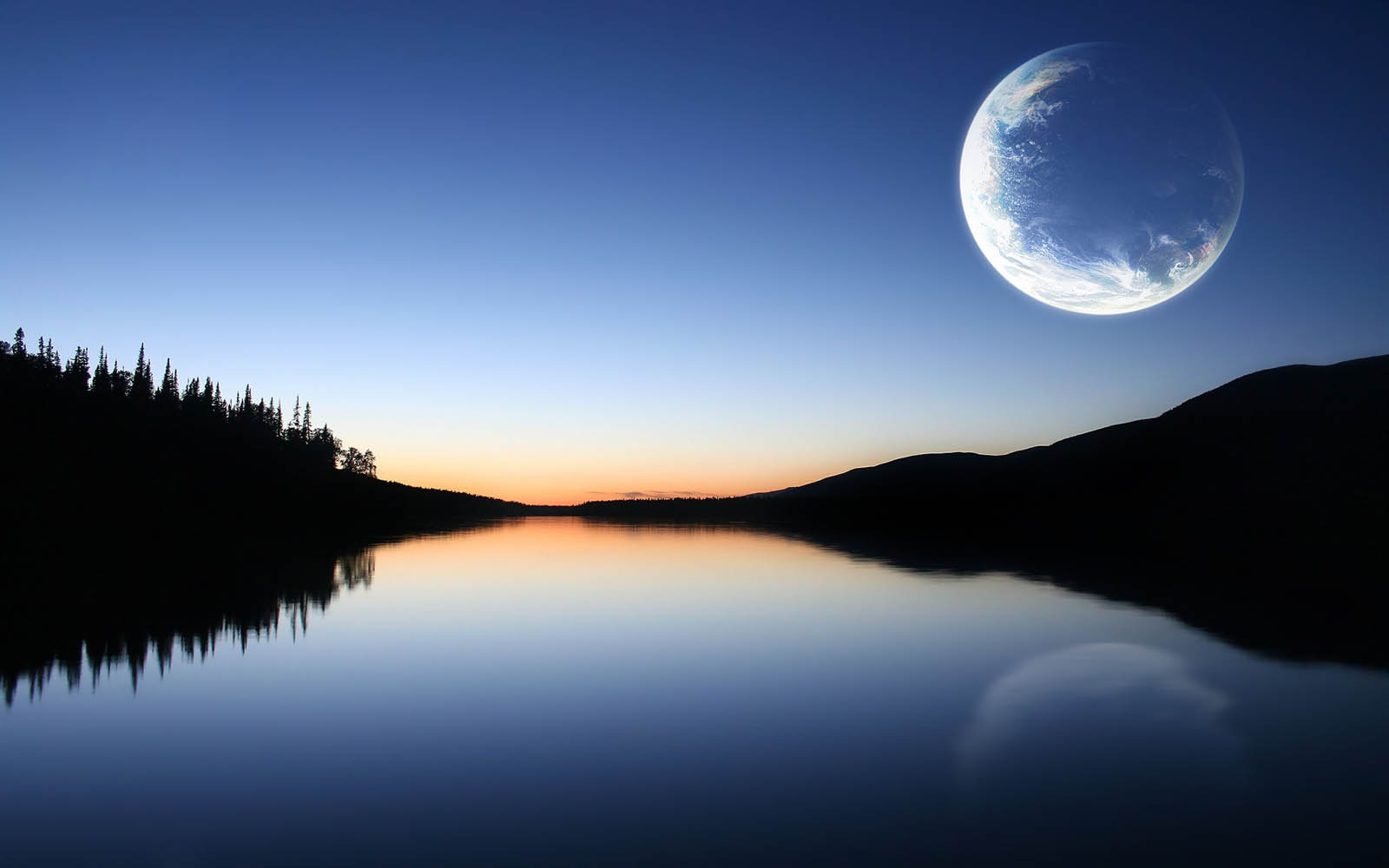 Wallpapers moon nature wallpapers for Wallpaper pictures
