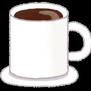 ココアのイラスト(カフェ)
