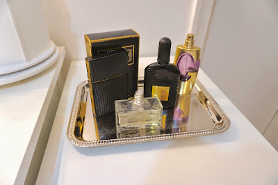 Perfume Setup, How to organize perfumes