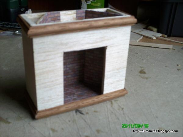 El mundo de las manualidades y la artesan a tutorial de - Hacer chimenea decorativa ...