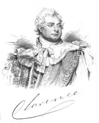 William, Duke of Clarence, from A Biographical Memoir of Frederick,  Duke of York and Albany by John Watkins (1827)