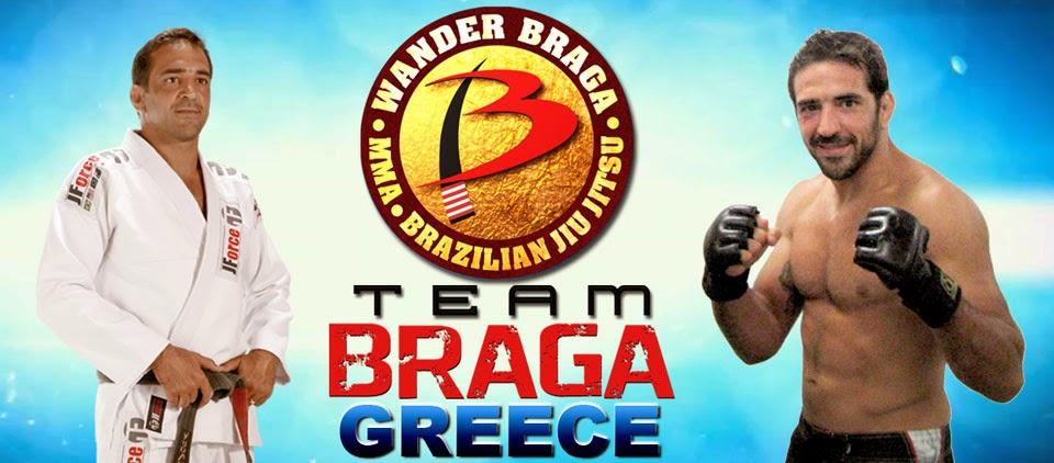 Ομάδα Βραζιλιάνικου Ζίου Ζίτσου και ΜΜΑ του Βάντερ Μπράγκα στην Ελλάδα