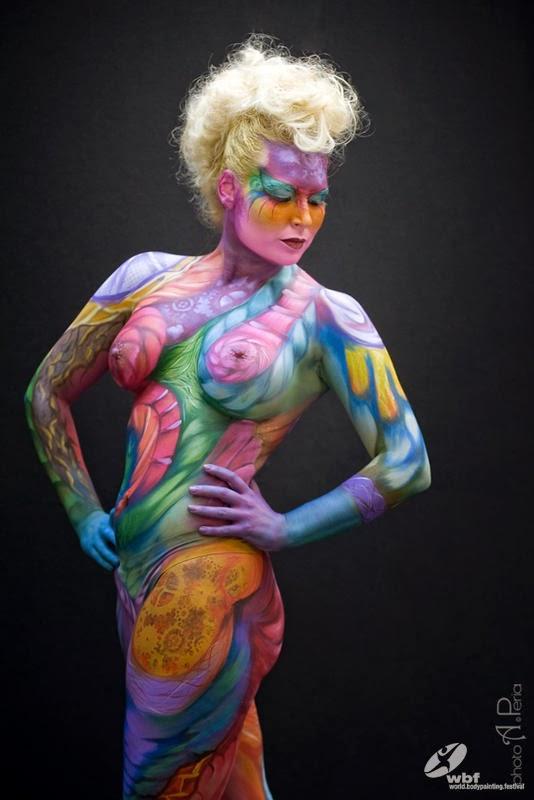 Kumpulan Foto Body Painting 15