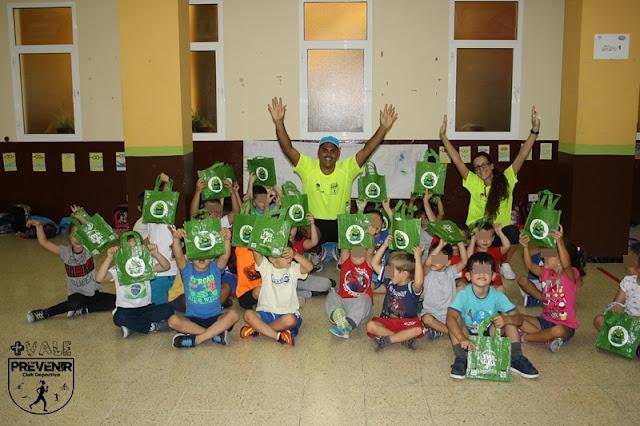 reciclar ecoembres en la escuela de verano
