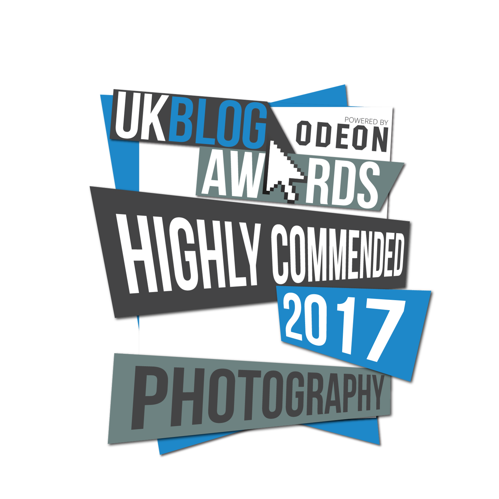 Highly commended in the UK Blog Awards 2017