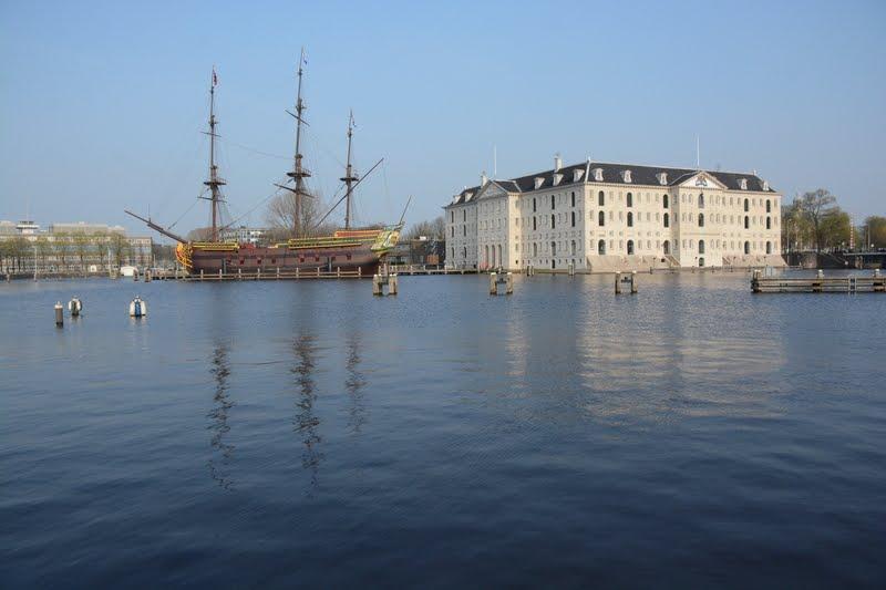Scheepvaartmuseum. Museu Marítimo Nacional, Amsterdam