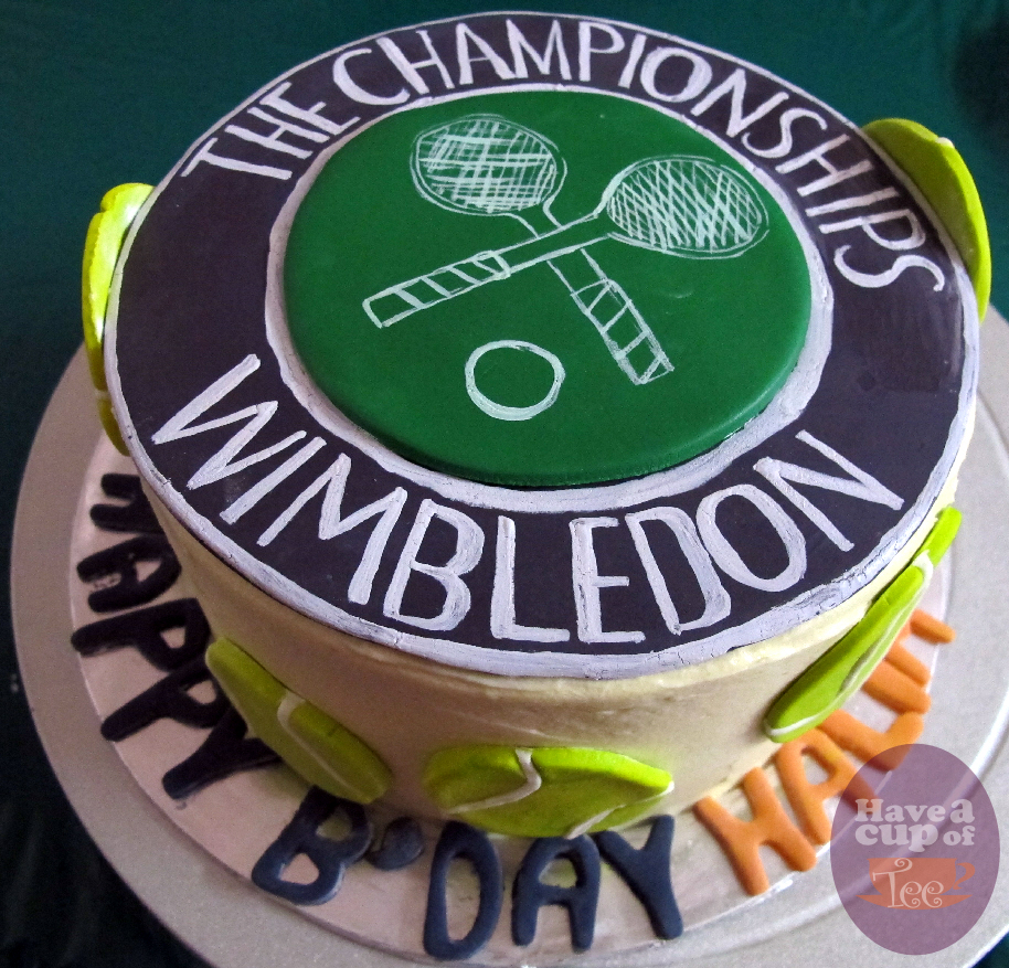 Have A Cup Of Tee Wimbledon Cake