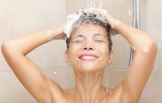 lavando os cabelos corretamente
